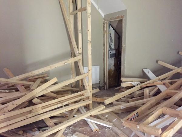 Salon demolition